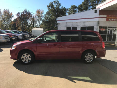 2012 Dodge Grand Caravan for sale at Northwood Auto Sales in Northport AL