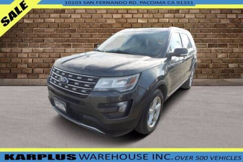 2016 Ford Explorer for sale at Karplus Warehouse in Pacoima CA