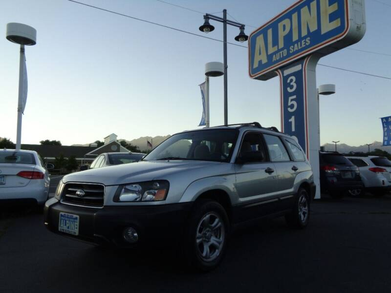 2004 Subaru Forester for sale at Alpine Auto Sales in Salt Lake City UT