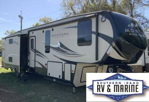 2017 KEYSTONE MONTANA 340BH for sale at SOUTHERN IDAHO RV AND MARINE in Jerome ID