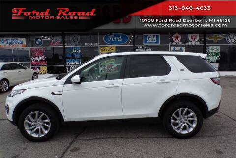 2018 Land Rover Discovery Sport for sale at Ford Road Motor Sales in Dearborn MI