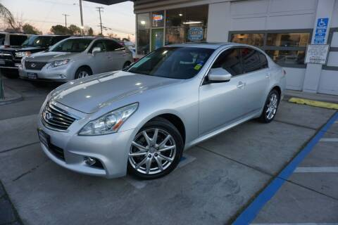 2012 Infiniti G37 Sedan for sale at Industry Motors in Sacramento CA