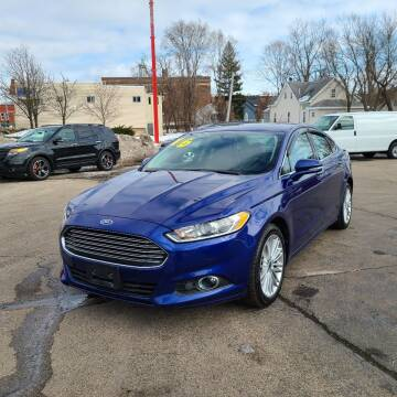 2016 Ford Fusion for sale at Bibian Brothers Auto Sales & Service in Joliet IL
