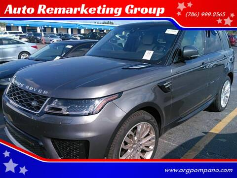 2019 Land Rover Range Rover Sport for sale at Auto Remarketing Group in Pompano Beach FL