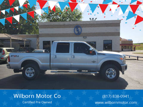 2011 Ford F-250 Super Duty for sale at Wilborn Motor Co in Fort Worth TX