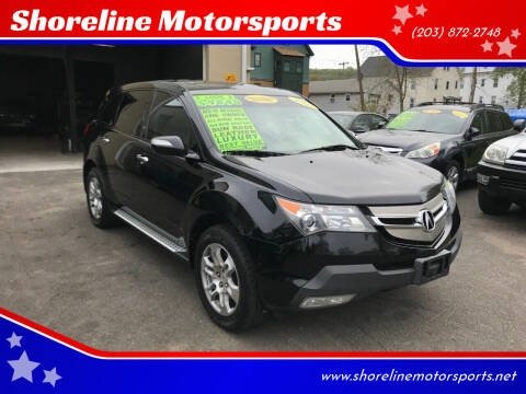 2007 Acura MDX for sale at Shoreline Motorsports in Waterbury CT