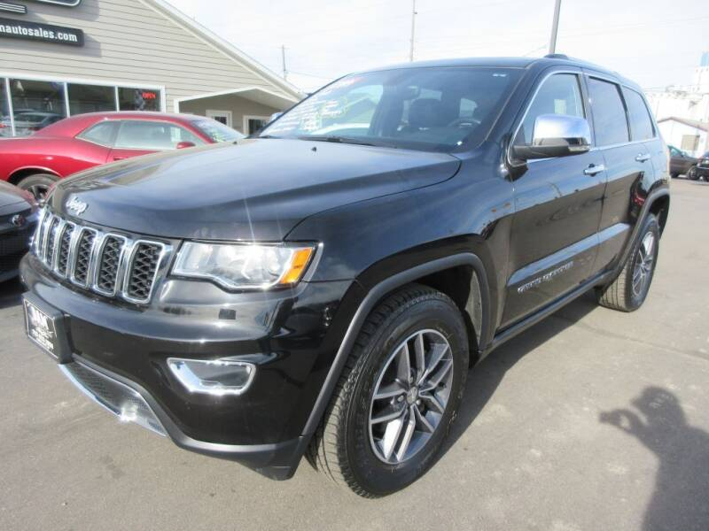2018 Jeep Grand Cherokee for sale at Dam Auto Sales in Sioux City IA