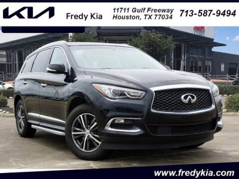 2017 Infiniti QX60 for sale at FREDY KIA USED CARS in Houston TX
