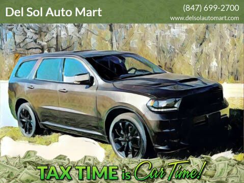 2019 Dodge Durango for sale at Del Sol Auto Mart in Des Plaines IL