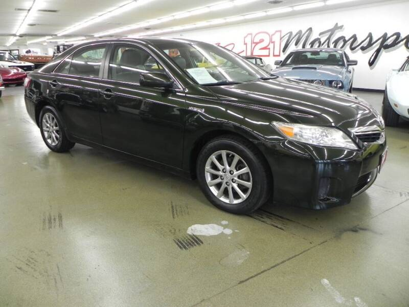 2011 Toyota Camry Hybrid for sale at 121 Motorsports in Mt. Zion IL