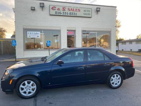 2007 Cadillac CTS for sale at C & S SALES in Belton MO