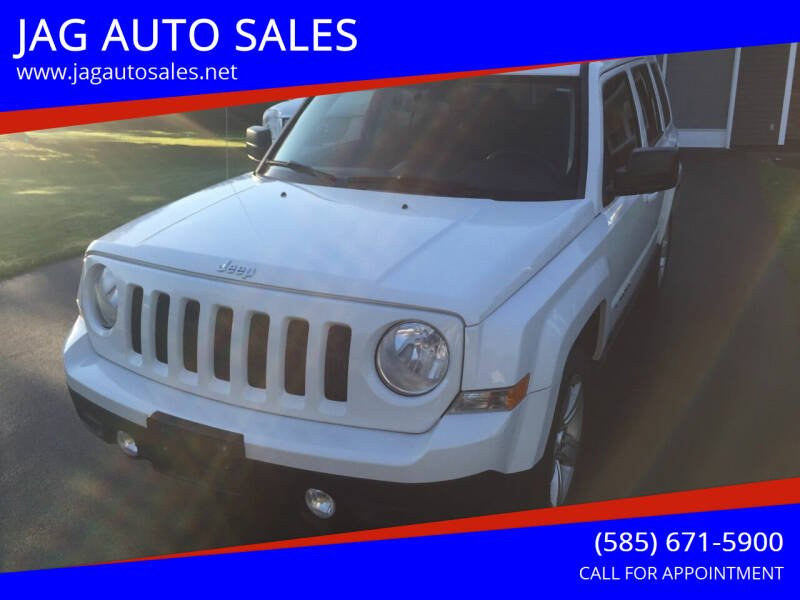 2011 Jeep Patriot for sale at JAG AUTO SALES in Webster NY