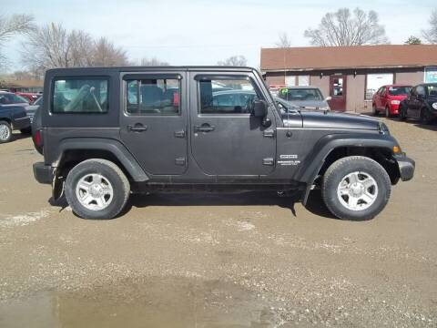 2016 Jeep Wrangler Unlimited for sale at BRETT SPAULDING SALES in Onawa IA