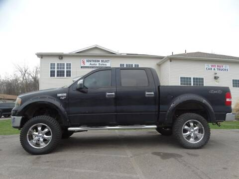 2006 Ford F-150 for sale at SOUTHERN SELECT AUTO SALES in Medina OH
