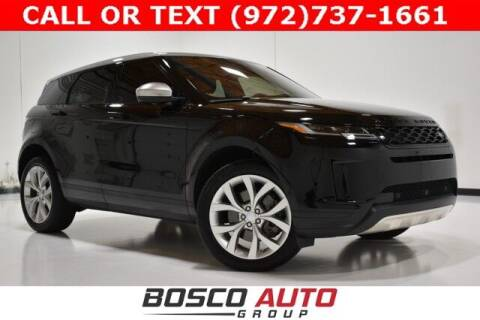 2020 Land Rover Range Rover Evoque for sale at Bosco Auto Group in Flower Mound TX