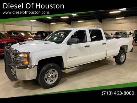 2018 Chevrolet Silverado 2500HD for sale at Diesel Of Houston in Houston TX