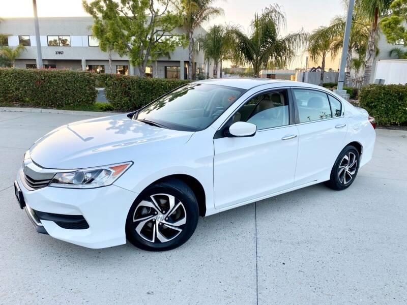 2017 Honda Accord for sale at Destination Motors in Temecula CA
