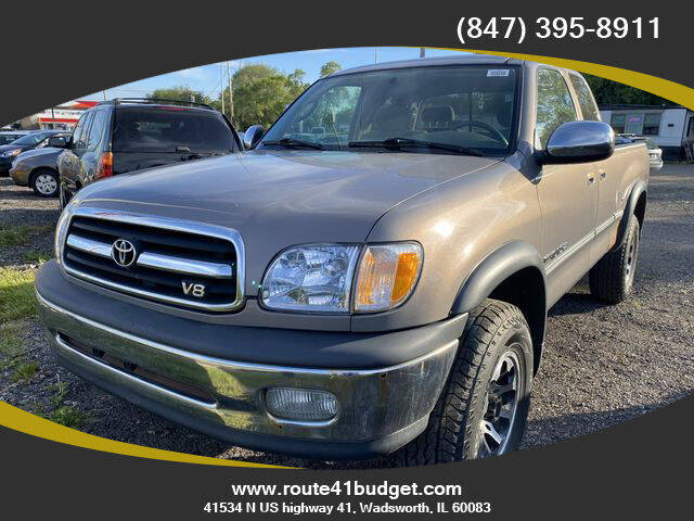 2002 Toyota Tundra for sale at Route 41 Budget Auto in Wadsworth IL