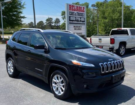 2016 Jeep Cherokee for sale at Reliable Cars & Trucks LLC in Raleigh NC