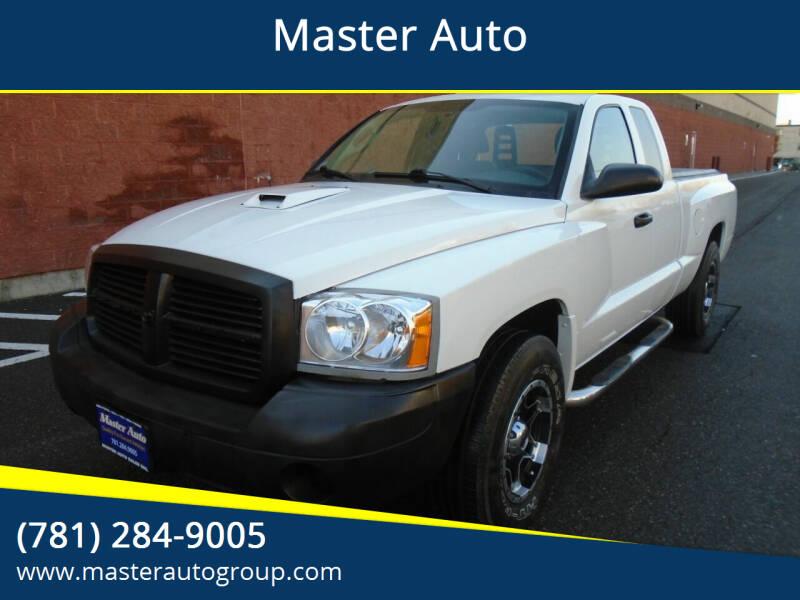 2005 Dodge Dakota for sale at Master Auto in Revere MA