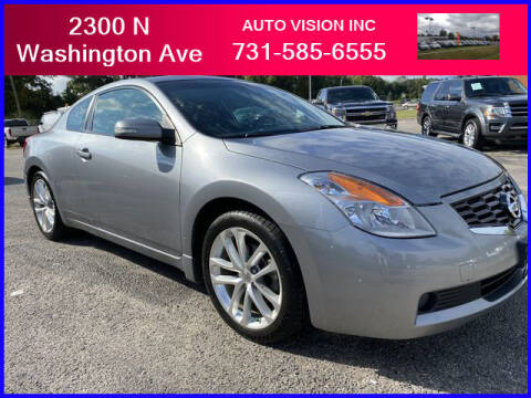 2009 Nissan Altima for sale at Auto Vision Inc. in Brownsville TN
