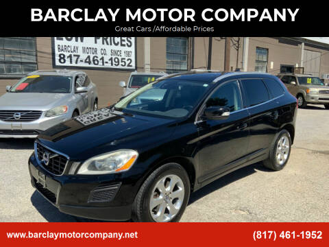 2013 Volvo XC60 for sale at BARCLAY MOTOR COMPANY in Arlington TX