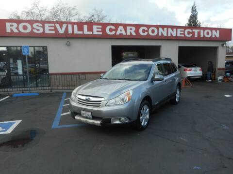 2011 Subaru Outback for sale at ROSEVILLE CAR CONNECTION in Roseville CA