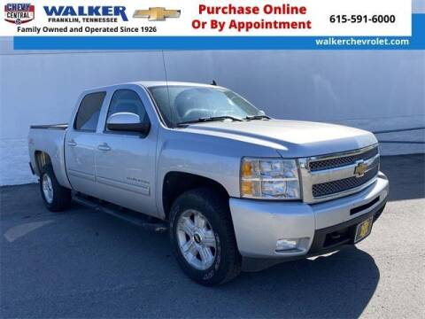 2012 Chevrolet Silverado 1500 for sale at WALKER CHEVROLET in Franklin TN