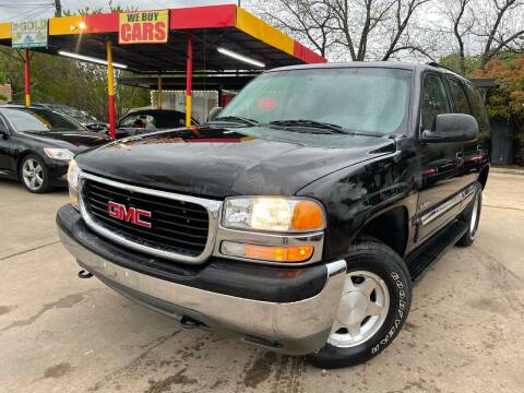 2004 GMC Yukon for sale at Cash Car Outlet in Mckinney TX