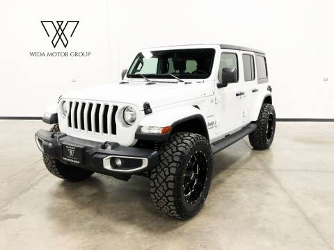2019 Jeep Wrangler Unlimited for sale at Wida Motor Group in Bolingbrook IL