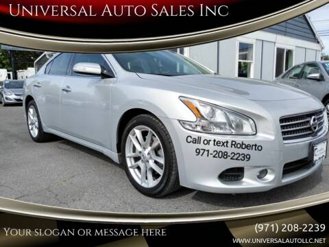 2011 Nissan Maxima for sale at Universal Auto Sales Inc in Salem OR