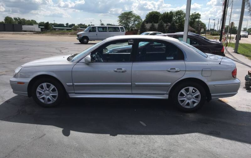 2004 Hyundai Sonata for sale at Larry Schaaf Auto Sales in Saint Marys OH