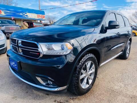 2014 Dodge Durango for sale at California Auto Sales in Amarillo TX