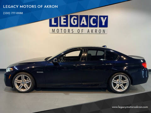 2014 BMW 5 Series for sale at LEGACY MOTORS OF AKRON in Akron OH