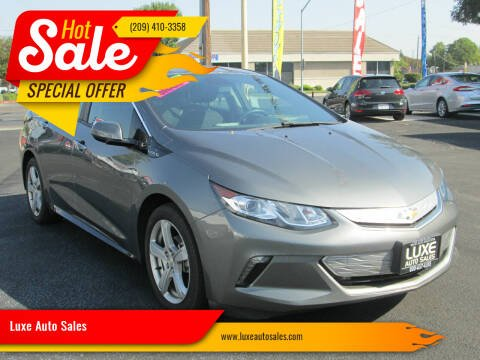 2017 Chevrolet Volt for sale at Luxe Auto Sales - Clean Air Qualified Vehicles in Modesto CA