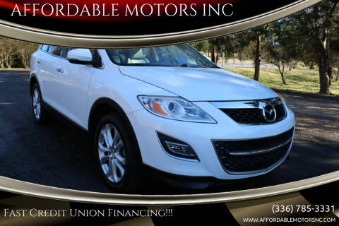 2012 Mazda CX-9 for sale at AFFORDABLE MOTORS INC in Winston Salem NC