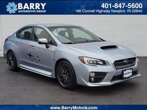 2017 Subaru WRX for sale at BARRYS Auto Group Inc in Newport RI