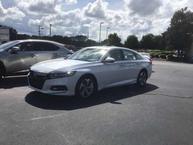 2018 Honda Accord for sale at Nodine Motor Company in Inman SC