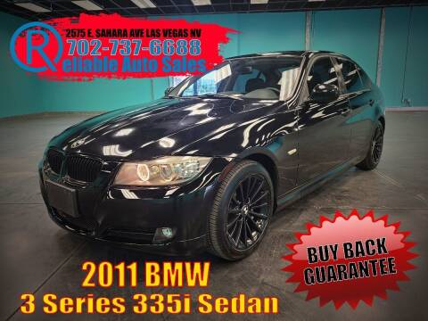 2011 BMW 3 Series for sale at Reliable Auto Sales in Las Vegas NV