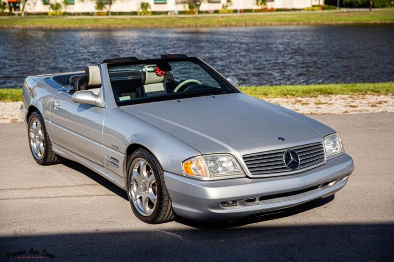 2002 Mercedes-Benz SL-Class for sale at Premier Auto Group of South Florida in Wellington FL