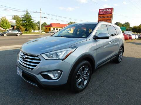 2016 Hyundai Santa Fe for sale at Cars 4 Less in Manassas VA