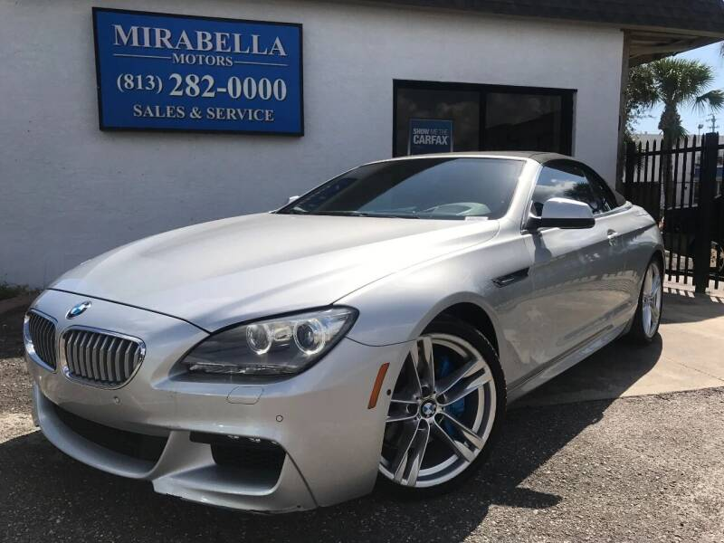 2012 BMW 6 Series for sale at Mirabella Motors in Tampa FL