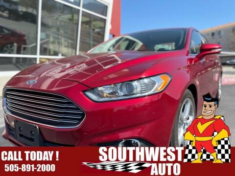 2016 Ford Fusion for sale at SOUTHWEST AUTO in Albuquerque NM