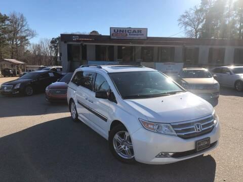 2012 Honda Odyssey for sale at Unicar Enterprise in Lexington SC