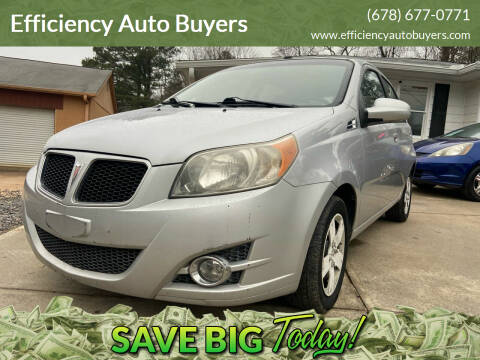 2009 Pontiac G3 for sale at Efficiency Auto Buyers in Milton GA