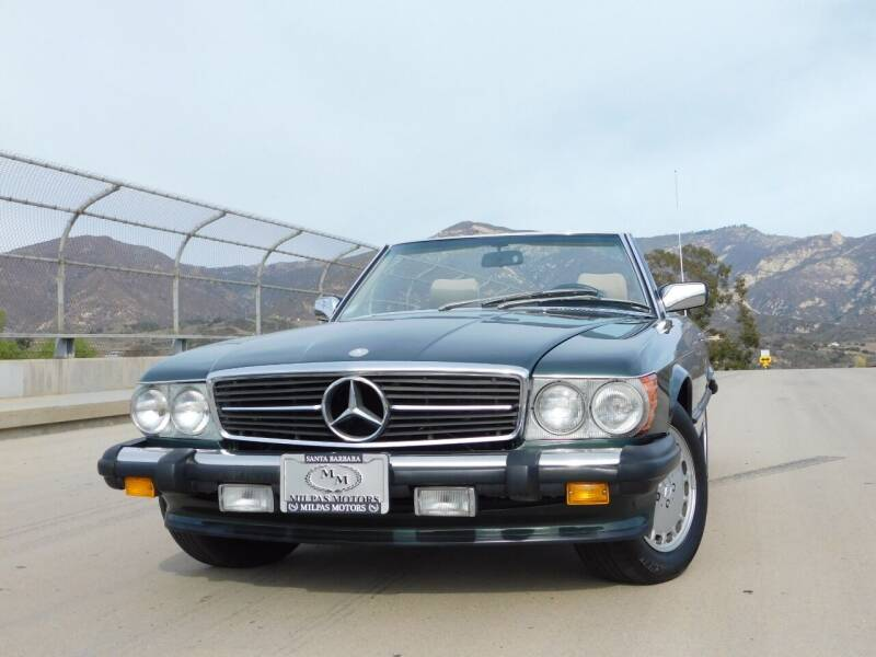1989 Mercedes-Benz 560-Class for sale at Milpas Motors in Santa Barbara CA