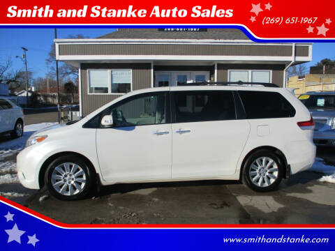 2013 Toyota Sienna for sale at Smith and Stanke Auto Sales in Sturgis MI