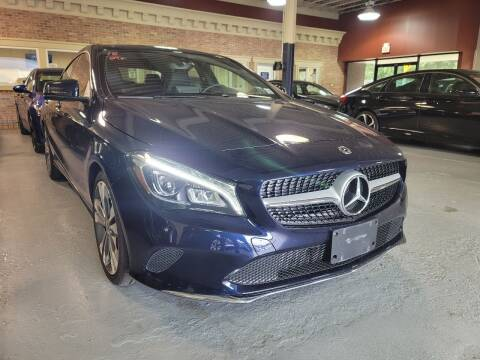2018 Mercedes-Benz CLA for sale at AW Auto & Truck Wholesalers  Inc. in Hasbrouck Heights NJ