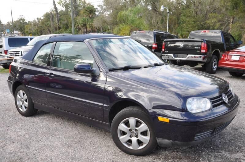 2002 Volkswagen Cabrio for sale at Elite Motorcar, LLC in Deland FL