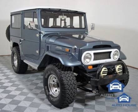 1970 Toyota Land Cruiser for sale at Autos by Jeff Scottsdale in Scottsdale AZ